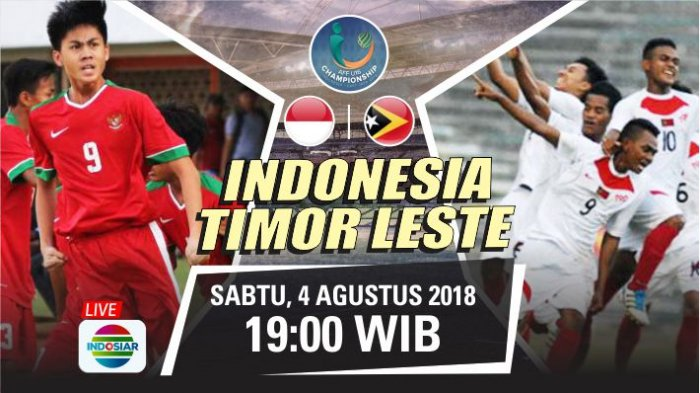Photo of Live Streaming AFF U-16 Indonesia Vs Timor Leste