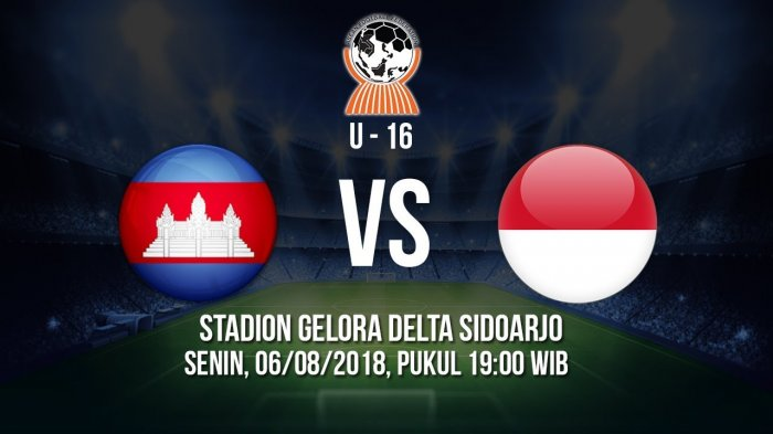 Photo of Live Streaming AFF U-16 Kamboja Vs Indonesia