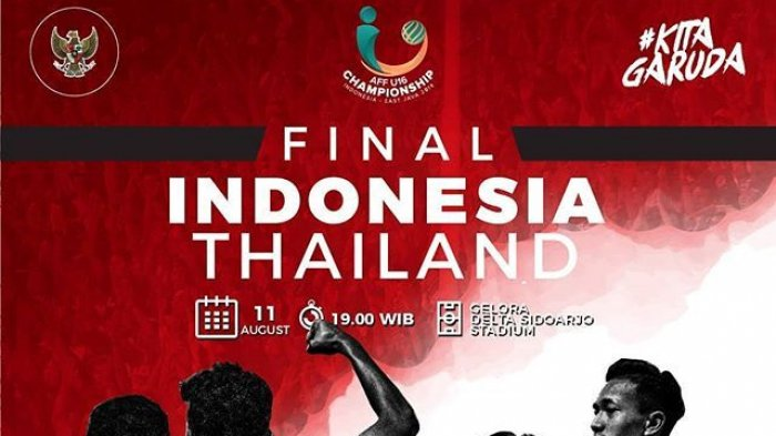 Photo of Live Streaming Final Piala AFF U-16 Indonesia Vs Thailand